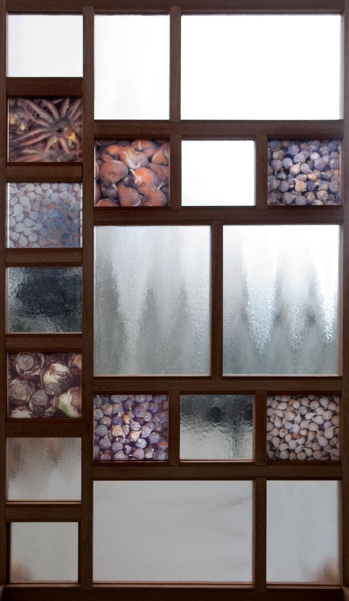 Kamerscherm, Scheidingswand uit glas, Glasfoto, Glastegel, Interieur