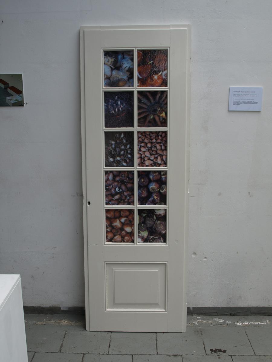Glasfoto, Deurdecoratie, Interieur