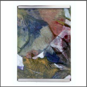 Wandlamp, Glasfoto, Glastegel, Interieur