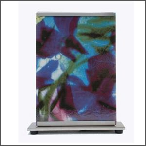 Tafellamp, Glasfoto, Glastegel, Interieur