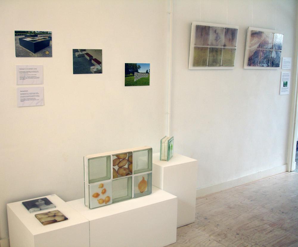 Expositie, Ruimte voor Kunst, Verhalend glas, Glasfoto tegels